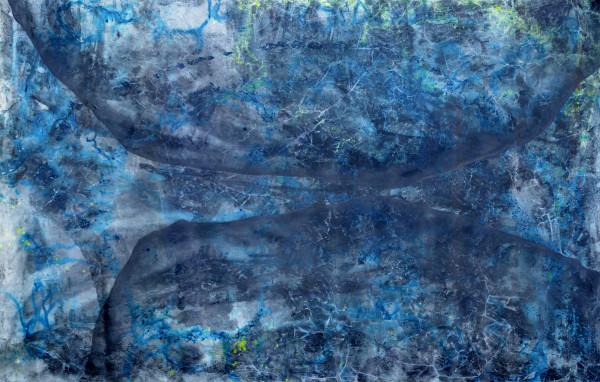 001_Raunacht V, Acryl und Graphit auf Leinwand, ca 350 x 210 cm, 2018_web