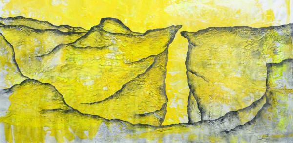 01_Abgründe IX, Graphit und Acryl auf Leinwand, 180 x 325 cm, 2019_web