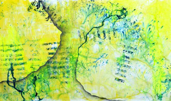 01_PARADIGMENWECHSEL, Acryl und Graphit auf Leinwand, 210 x 380 cm, 201618_web