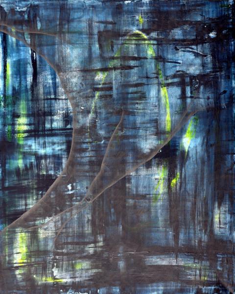 16_OT_3teilig_Acryl und Graphit auf Leinwand_2014_Detail_120x150x4cm
