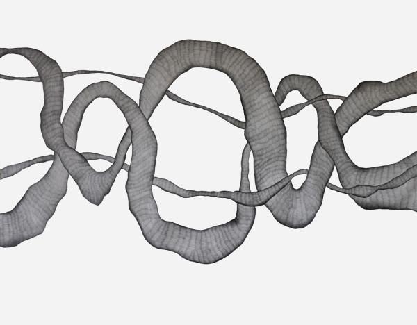 28_Zeichnung_Ohne Titel (Rom II)_Graphit auf Leinwand_210x170cm_2009_