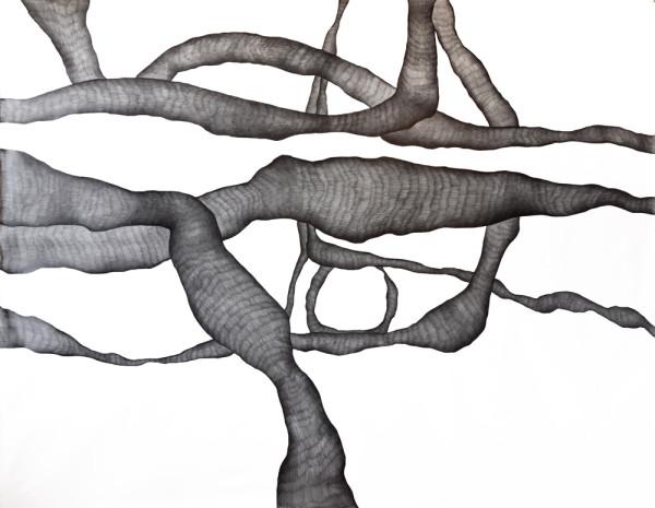 29_Zeichnung_Ohne Titel (Rom I)_Graphit auf Leinwand_210x160cm_2009_